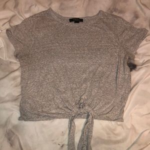 Forever 21 Tops - Forever21 Crop Tie tee